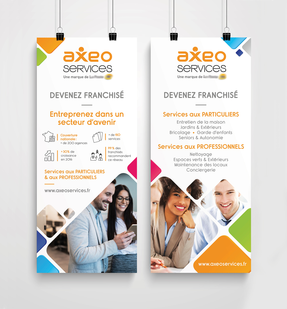 Jane et Bernie - Roll-up AXEO Services/La Poste