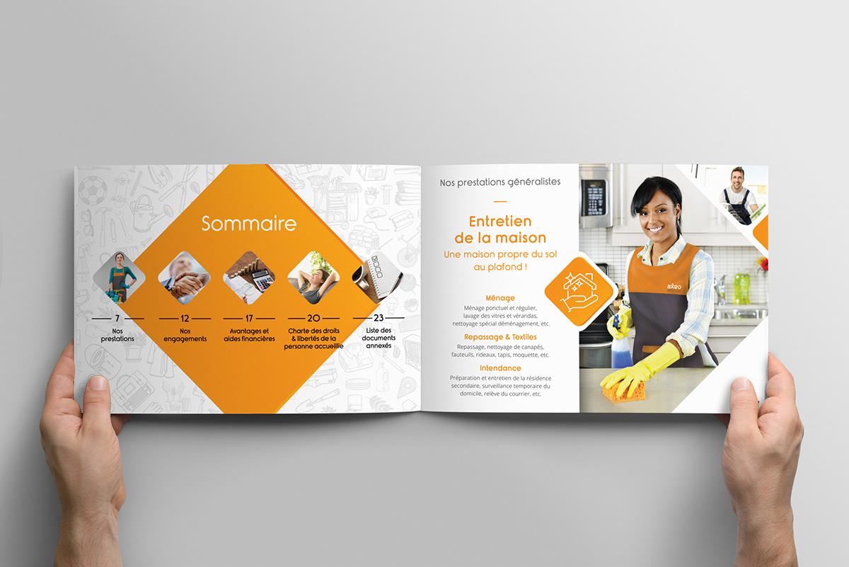 Jane et Bernie - Carnet AXEO Services/La Poste