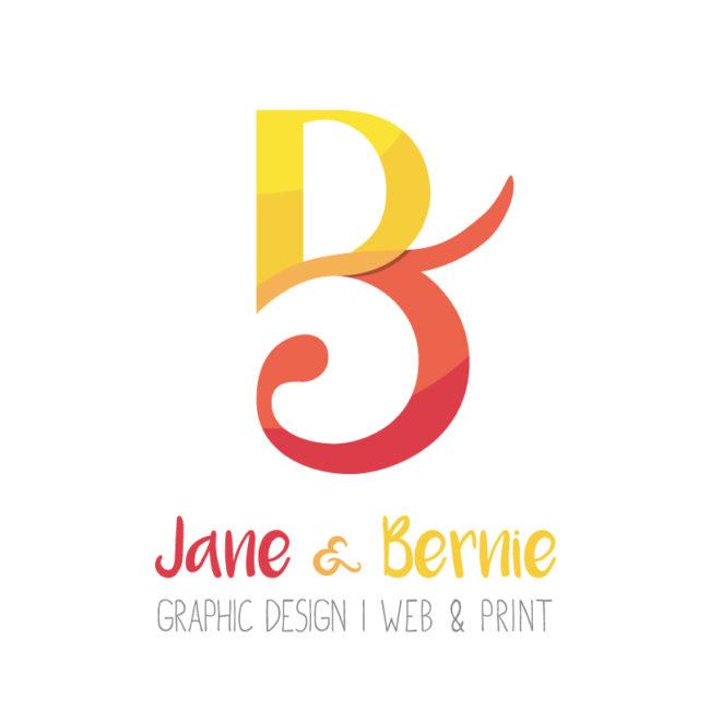 Jane et Bernie - Logo favicon
